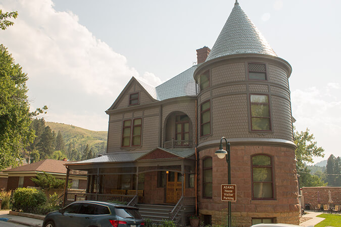 Adams House in Deadwood