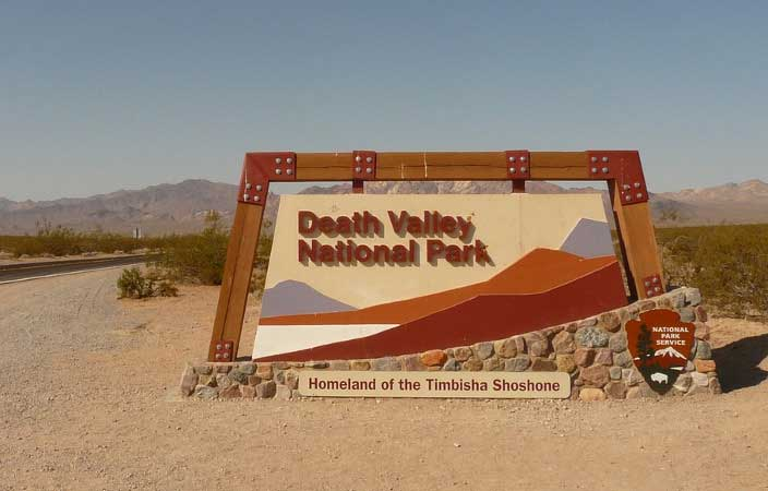 Ingresso alla Death Valley National Park