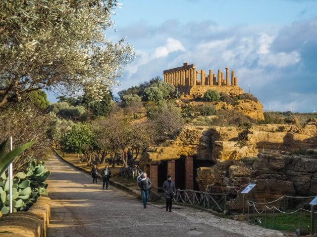 La Valle dei Templi-Agrigento-Sicilia