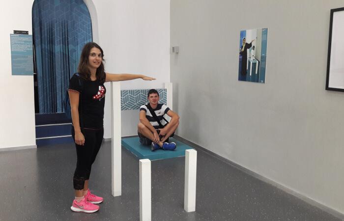 Museo illusioni Muscat