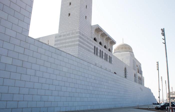 Moschea bianca Muscat