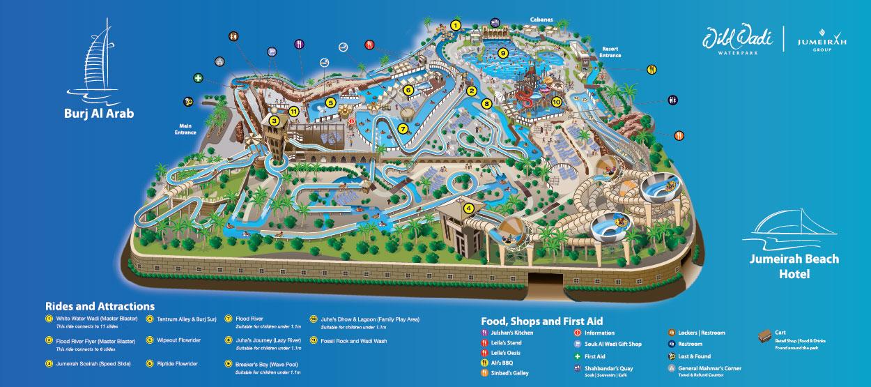 Cartina Mappa Turistica Dubai.Informazioni Utili Dubai Itinerario Di Viaggio