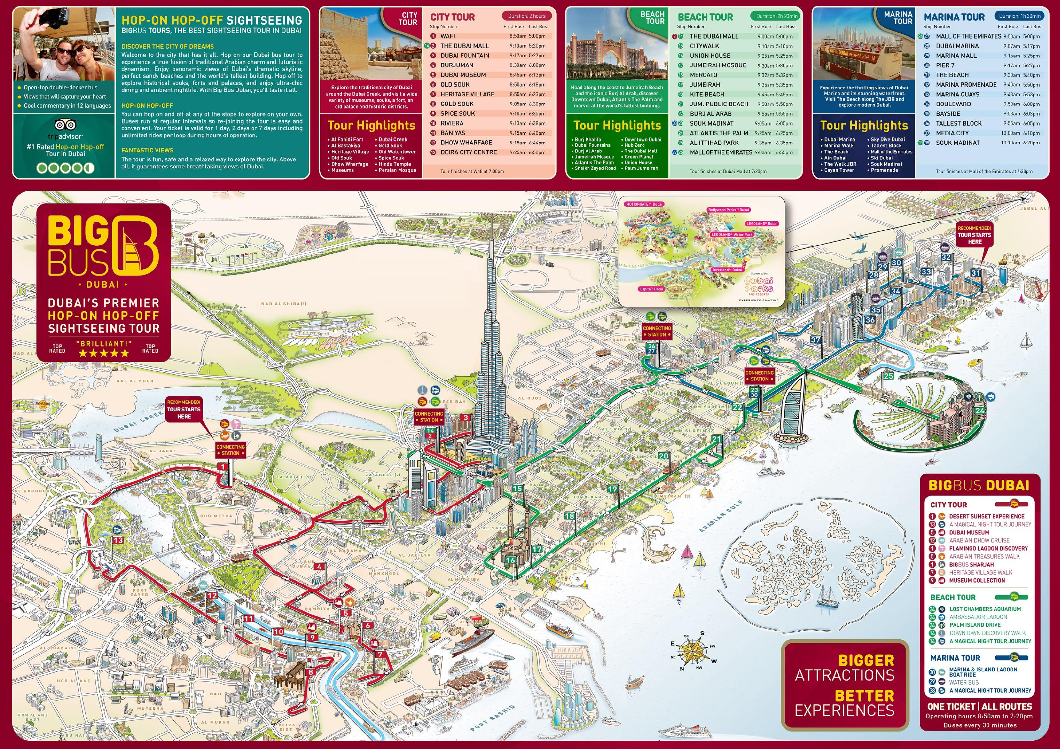 Cartina Turistica Dubai.Informazioni Utili Dubai Itinerario Di Viaggio