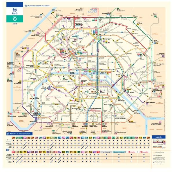 Parigi Cartina Monumenti.Informazioni Utili Parigi Itinerario Di Viaggio